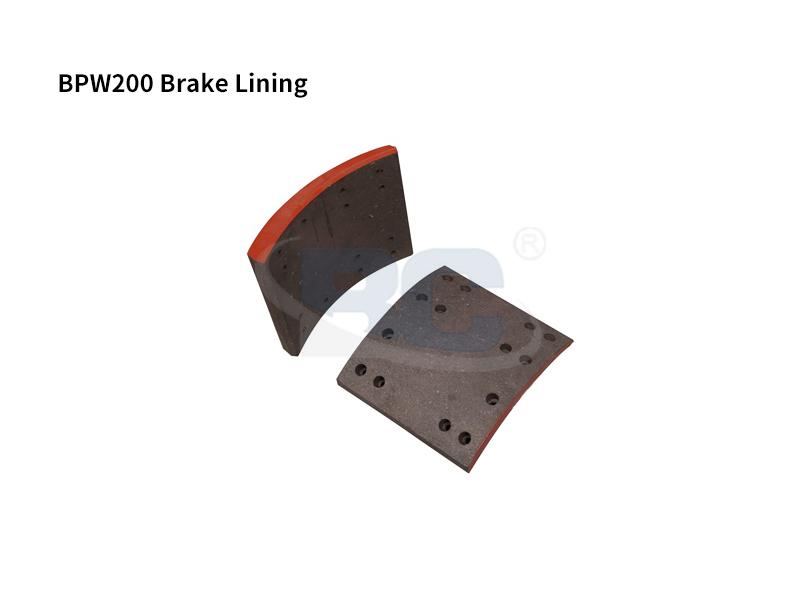 BPW200 Brake Lining